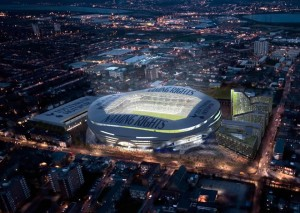 Even an area like Tottenham can look nice in the dark.
