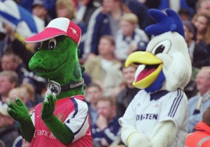 The old Chirpy always had a smile on his face, even when forced to spend time with an Arsenal supporting dinasaur.