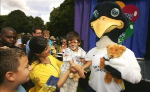 Why will Chirpy not look these innocent children in the eye?