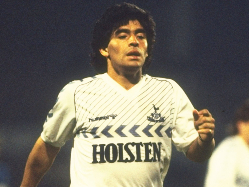 best authentic 1b102 e5ce3 The Day That Maradona Played For Tottenham – TottenhamBlog.com