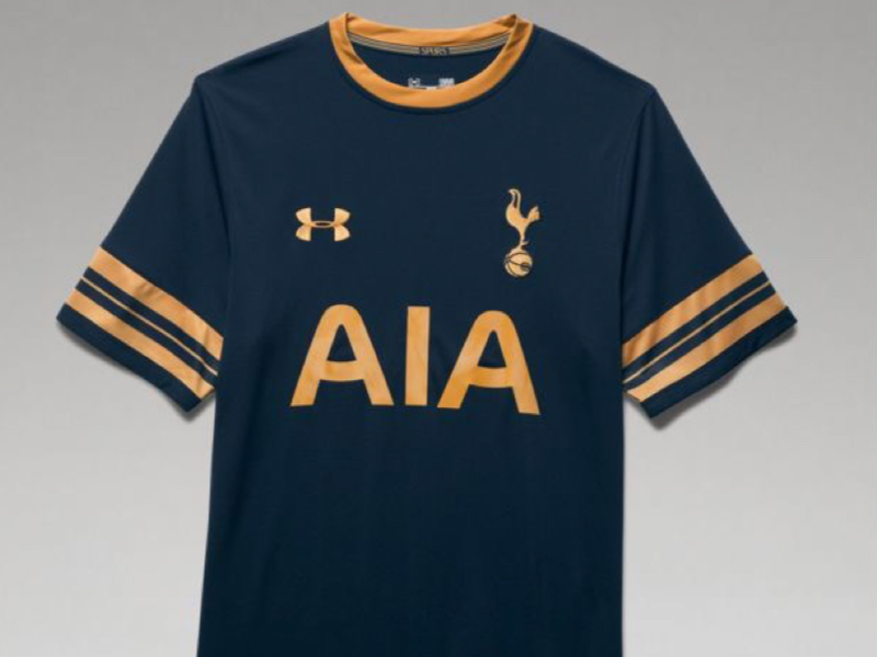 on sale d14fe 18526 Spurs go for gold with new away kit | TottenhamBlog.com